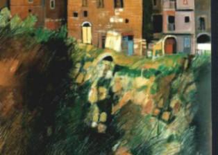 """""""Calcata"""" tecnica mista (70 x 90 cm)"""