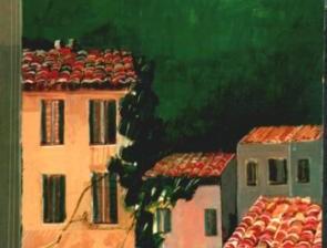 """Castelcolonna"" tecnica mista (40 x 60 cm)"