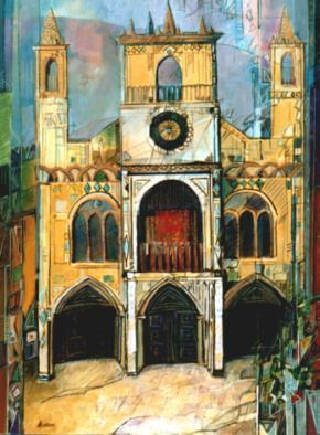 """Cattedrale"" tecnica mista (60 x 80 cm)"