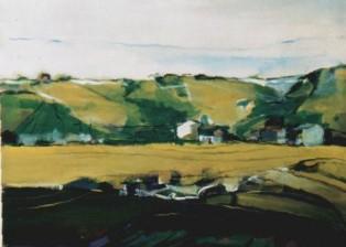 """Paesaggio"" tecnica mista (60 x 80 cm)"