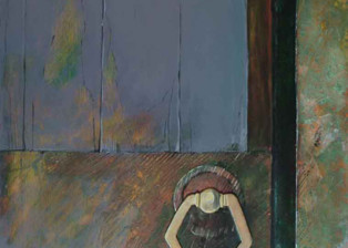 """Porta"" tecnica mista (60 x 80 cm)"