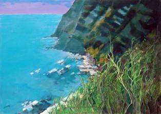 """""""Grotte al Passetto"""" tecnica mista (50 x 70 cm)"""